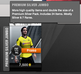 Silver Jumbo Pack Ultimate Team
