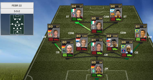 TOTW 24 FIFA Ultimate Team of the Week