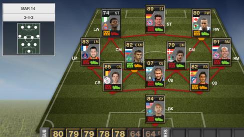 TOTW 27, IF Robben, SIF Gomez, SIF Samuel