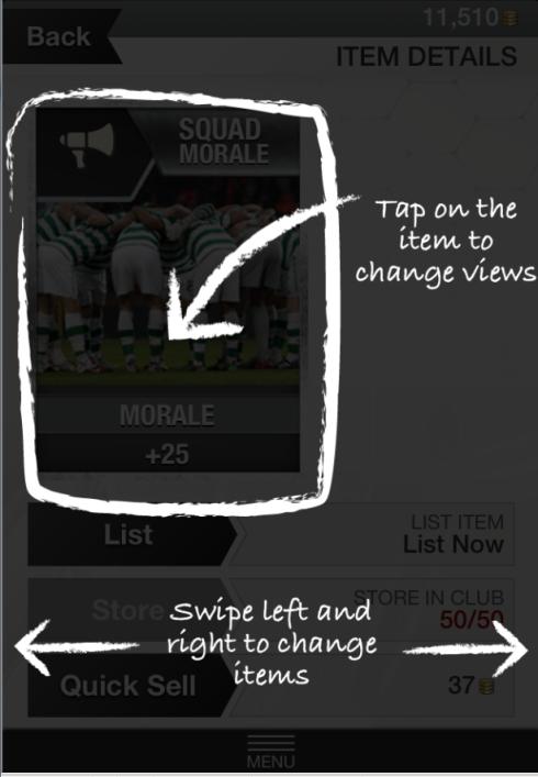 FIFA 13 iPhone App help