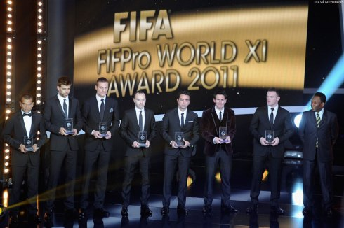 2011 World XI (image copyright Getty Images)